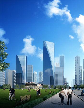大成金融商务中心 以滇峰之势呈世界之美图片